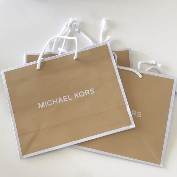Michael Kors gift bag/ paper bag